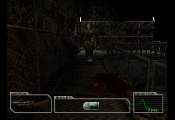 Resident Evil Survivor  - Battle  -  - User Screenshot