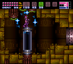 Super Metroid - Location Tourian - ice beam combo - User Screenshot