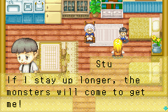 Harvest Moon - More Friends of Mineral Town - and who told you this? - User Screenshot