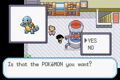 Pokemon Ash Gray (beta 2.5z) - I Choose Squirtle Vc! Oh the Poke Ball is emp - User Screenshot