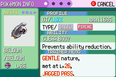 Pokemon Emerald 386 - statistically the luckiest thing ever - User Screenshot