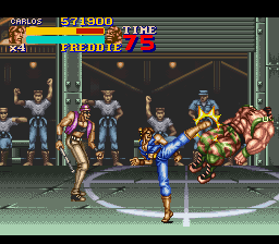 Final Fight 2 - Level Round 2 - Round 2 Boss Freddie - User Screenshot