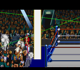 Saturday Night Slam Masters - Introduction  - Team Battle Royal Intro - User Screenshot