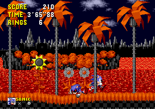 An Ordinary Sonic ROM Hack - Level  - What? - User Screenshot
