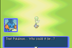 Pokemon Mystery Dungeon - Red Rescue Team - Cut-Scene  - Its a creeper - User Screenshot