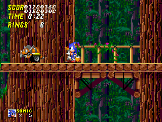 Sonic 2 Long Version - Tricerabot! - User Screenshot