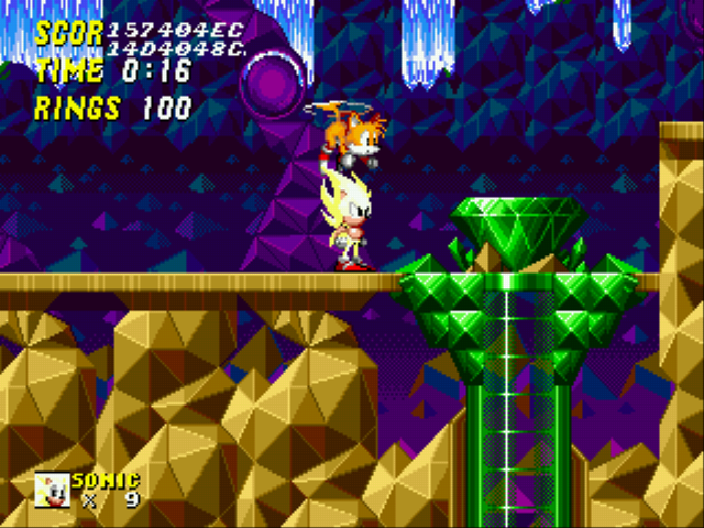 Sonic 2 Long Version - Master Emerald! :D - User Screenshot