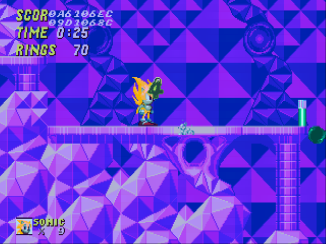Sonic 2 Long Version - Even Super Sonic can Drown! - User Screenshot