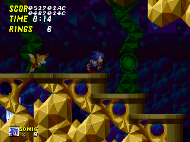 Sonic 2 Long Version - Night Mode enabled in HPZ! - User Screenshot