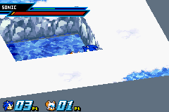 Sonic Battle - Sonic: Aghh! Rouge stop! It hurts! Aghhh! - User Screenshot