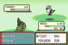 Pokemon Victory Fire (v1.91) - its a psychic pidove!!!  - User Screenshot