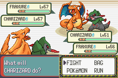 Pokemon Victory Fire (v1.91) - Battle  - umm ..this is strange - User Screenshot