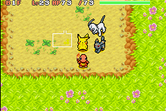 Pokemon Mystery Dungeon - Red Rescue Team - Cut-Scene  - My Team with Umbreon (just recrutied) - User Screenshot