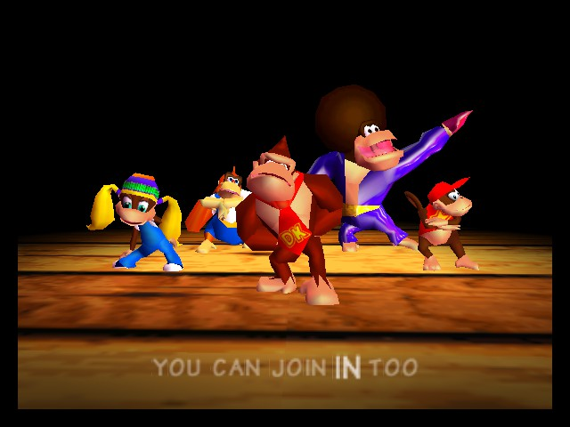 Donkey Kong 64 - You can join in too - User Screenshot
