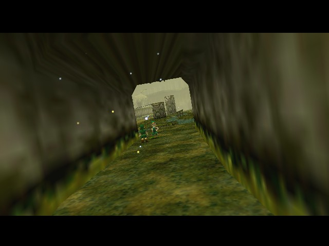 The Legend of Zelda - Ocarina of Time (Debug Edition) - Cut-Scene  - Hey Navi this idiot won