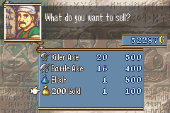 Fire Emblem - The Sacred Stones - How. - User Screenshot