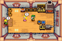 Legend of Zelda, The - The Minish Cap - Zelda, what are you doing here?! - User Screenshot