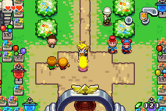 "Legend of Zelda, The - The Minish Cap - ""Link, put that shield down!"" ""NEVER!"" - User Screenshot"
