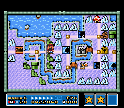 Super Mario All-Stars - BBRRRRRR... its cold here! - User Screenshot