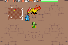 Pokemon Mystery Dungeon - Red Rescue Team - Battle  - from a safe distance - User Screenshot