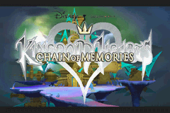 Kingdom Hearts - Chain of Memories - superb title screen - User Screenshot