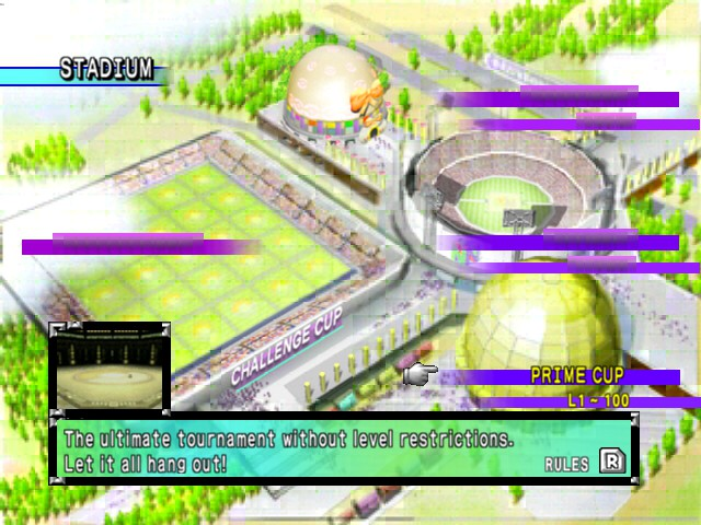 Pokemon Stadium 2 - Let it all hang out.Is this a pokemon battle? - User Screenshot