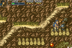 Metal Slug Advance - Dont worry your getting out of hear!!! - User Screenshot