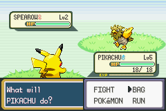 Pokemon Ash Gray (beta 3.61) - SOB FIRST STARTED >:( - User Screenshot