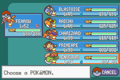 Pokemon Ash Gray (beta 3.61) - beat the game :) - User Screenshot
