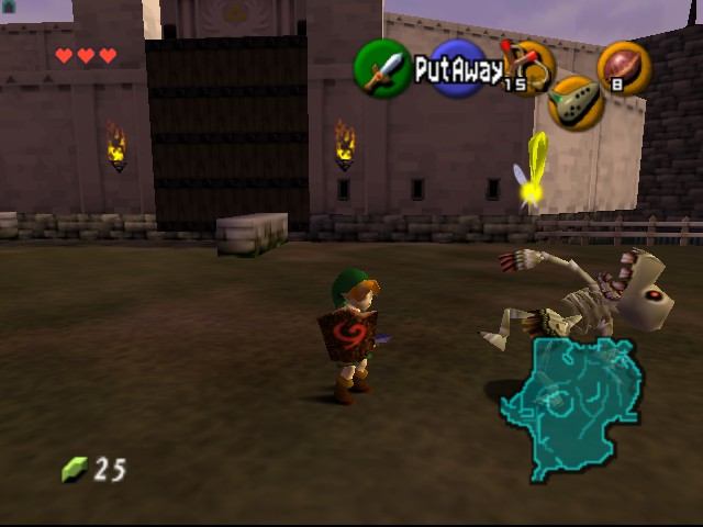 The Legend of Zelda - Ocarina of Time - Level  - fought them all night!:( - User Screenshot