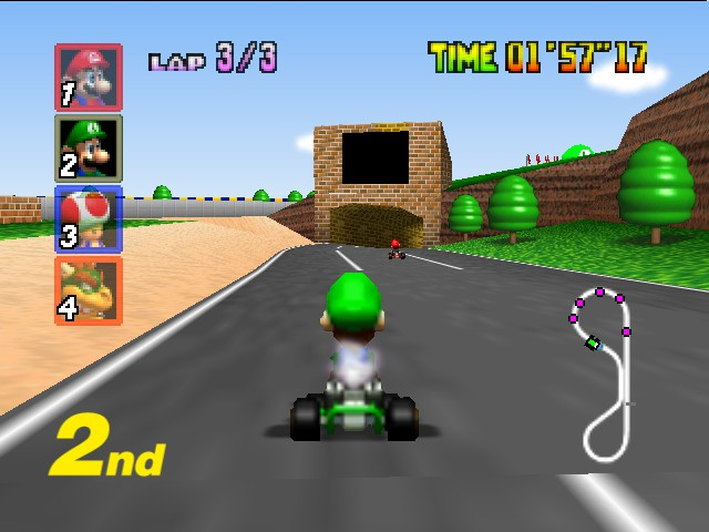Mario Kart 64 - .just trolling. - User Screenshot