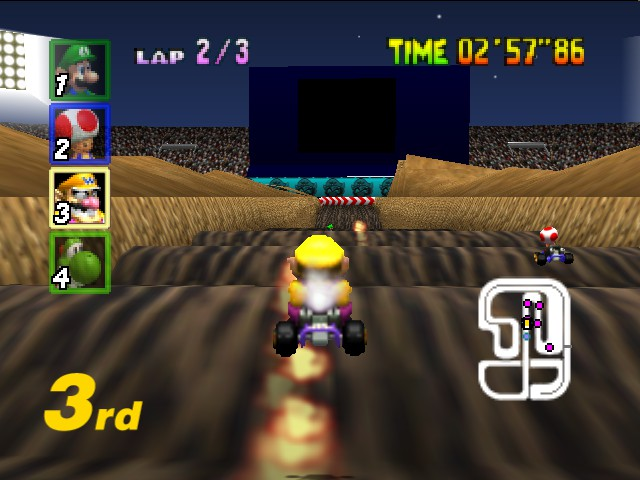Mario Kart 64 - fire fire f-f-f-fire!! - User Screenshot