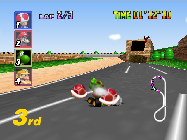 Mario Kart 64 - darn SOPA - User Screenshot