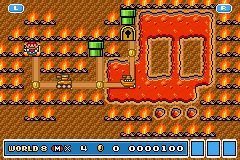 Super Mario Advance 4 - Super Mario Bros. 3 - 8TH WORLD IS HARDEST WORLD EVER!! - User Screenshot