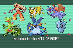 Pokemon Rebirth - Ending  - Champion! - User Screenshot