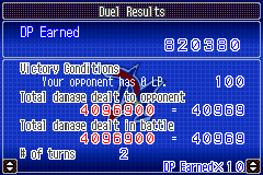 Yu-Gi-Oh! GX - Duel Academy - over 800 000 earned! - User Screenshot