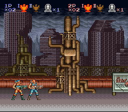 Contra III - The Alien Wars - me and gazzy - User Screenshot