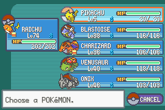 Pokemon Ash Gray (beta 3.61) - prof oak gave me a second pikachuXD - User Screenshot
