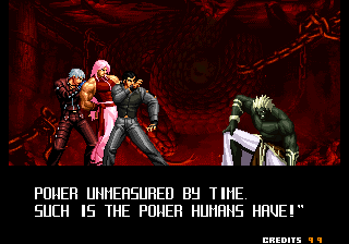 The King of Fighters 2003 (NGM-2710) - Ending  - Real last fight (Defeated) - User Screenshot