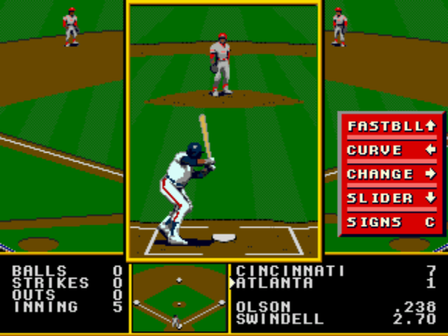 Tony La Russa Baseball - Spanking Atlamta. - User Screenshot