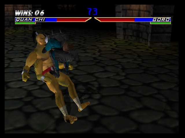 Mortal Kombat 4 - Quan Chi to break Goro