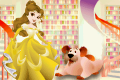 Disney Princess - Royal Adventure - belle and the dog - User Screenshot