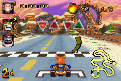 Crash Nitro Kart - Level Norm