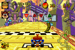 Crash Nitro Kart - Level Geary