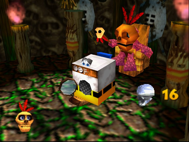 Banjo-Kazooie - Location mumbo