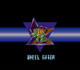 Mega Man X2 - Character Profile maverick - Wheel Gator - User Screenshot
