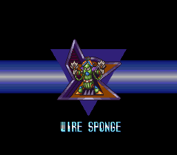Mega Man X2 - Character Profile Maverick - Wire Sponge - User Screenshot