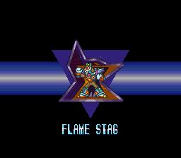 Mega Man X2 - Character Profile Maverick - Flame Stag - User Screenshot
