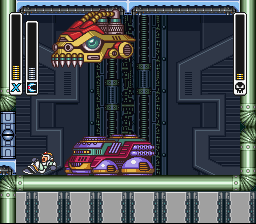 Mega Man X - Battle  - he is going to eat me!!! - User Screenshot