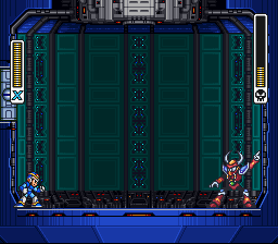 Mega Man X - Battle  - dont mess with the bug - User Screenshot